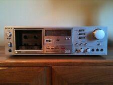 Sony Tc-K81 Vintage Cassette Deck 3 feerite cabeza registro de sonido Perfecto Estado