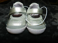 Surprize by Stride Rite Infant/Toddler Shoes~Silver~Size 4~New!