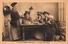 Les Auvergnats chez eux - la soupe aux choux