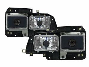 ELF 100P Fifth generation 1993-2003 2D Projector Headlight Chrome for ISUZU LHD