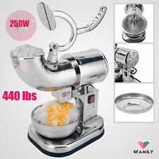 Commercial Electric 440lbs Snow Cone Ice Shaver Maker Machine Ice Crusher OY