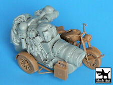 Black Dog 1/35 German Motorcycle Sidecar Accessories WWII (Master Box) T35011