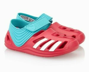 Adidas  Zsandals Girls Kids Swimming Sandals Beach Shoes Pink S78572 Pool new