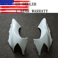 Unpainted Plastic Side Cover Fairing Cowl for Kawasaki Ninja ZX10R 2004 2005 04