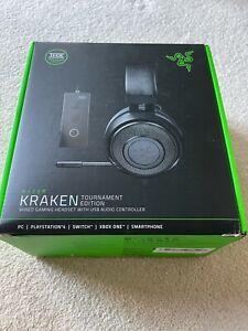Razer Kraken  Tournament Edition Wired Gaming Headset -  Black - Boxed