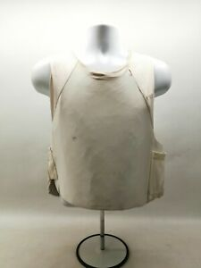 Ex Police Body Armour Mehler White Covert Ballistic Vest Security Obsolete Duty