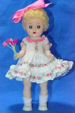 "New ListingVintage 8"" Hard Plastic Doll by Elite Creations"