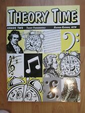 Rathnau Theory Time Grade Two, New, piano theory workbook