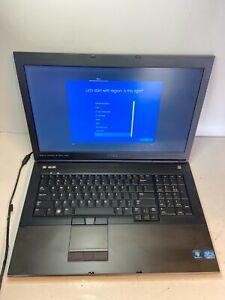 """FAST Dell Precision M6700 Quad Core i7 17"""" Laptop 2TB SSD 32GB Windows 10 Pro"""