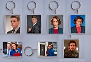 Bodyguard TV Series,  Photo Keyrings / bag tag, clear plastic,