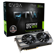 EVGA GeForce GTX 1070 FTW | Nvidia Grafikkarte | OVP + Restgarantie