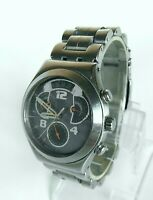 Swatch Irony Men's Chronograph watch for part (working partly) Swiss Made Watch