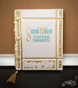 2020 Disney Snow White and the Seven Dwarfs Storybook Replica Journal