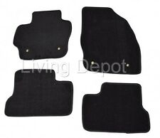 Fit For 2010-2013 Mazda 3 Floor Mats Carpet Front & Rear Nylon Black 4PC