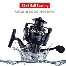 Spinning Metal Fishing Reels 12+1BB Saltwater Wheel 5.5:1 High Speed 1000-7000