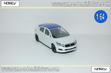Citroën DS 4 5 portes white métal toit blue NOREV - NO 319001.10 - Echelle 1/64