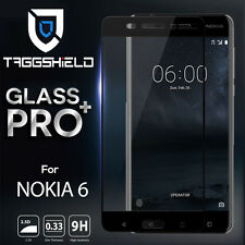 TAGGSHIELD Full Coverage Tempered Glass Film Screen Protector for Nokia 3 5 6 8