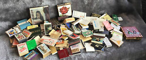 Enormous Vintage Group Of Matchboxes & Covers Pan Am Harrods Hotels