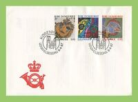 Denmark 1987 Ribe Cathedral Art set First Day Cover