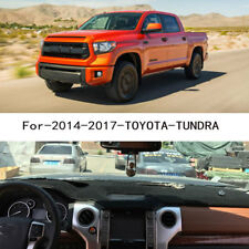 For 2014-2017 TOYOTA TUNDRA Dash Mat Dashboard Dashmat Black Carpet Cover Pad