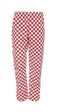 Pantalones de Chef Pantalones cheque chefs Uniforme Unisex Catering Camarero Cocinero Workwear