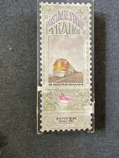 N Scale Aurora Postage Stamp Train Set 4703 Cannon Ball In Box