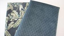 Wildlederimitat schwarz Stoffpaket 2 x 50 x 140 Canvas-Baumwolle Dots