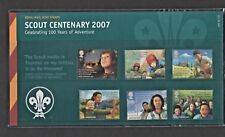 GB 2007 SCOUT CENTENARY STAMP PRESENTATION PACK