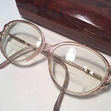 Silver Dollar Vintage Rx Eyeglasses Frames Lois Color #1 80s 63 15 135