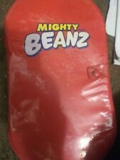 Mighty Beanz Lot of 47 with Red Carrying Case