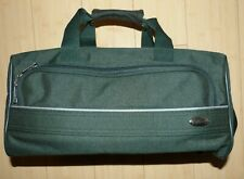 Vintage PIERRE CARDIN Forrest Green gym, travel, duffle bag, carry on
