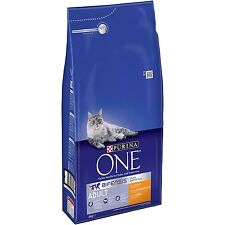 Purina ONE Bifensis Adult Dry Cat Food Chicken and Whole Grains 6kg Free P&P NEW