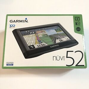 Garmin NUVI 52 GPS Device  NEW
