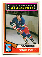 1974-75 OPC Brad Park All-Star Card #131 New York Rangers
