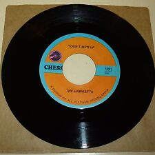 NEW ORLEANS R&B 45 RPM RECORD - THE HAWKETTS - CHESS 1591