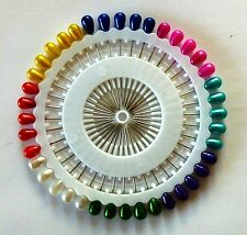 NEW Hijab Pins (40) Assorted Colors Small for Islamic Hijab - Pins length 1.5""