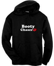 Booty Chaser Hoodie Kiss Red Lips Pirate Pullover Sweatshirt Size S-3XL Black