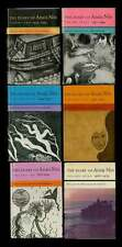 Anaïs NIN / The Diary of Anais Nin Volumes 2-7 1980