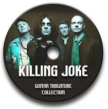 KILLING JOKE GUITARE ROCK TABLATURE LIVRE MUSICAL LOGICIEL BIBLIOTHÈQUE CD