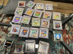 23 Nintendo Gameboy Games Star Wars Kirby Mortal Kombat Ect Authentic