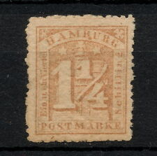 (YYAA 574) Hamburg 1864 MH GERMANY German states
