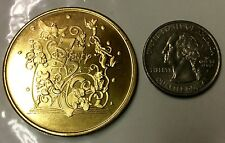 WALT DISNEY 75th ANNIVERSARY COIN MEDALLION LIMITED