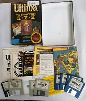 Ultima: The Second Trilogy (PC, 1992)  [CLOTH MAP VERSION] Free Fast Shipping