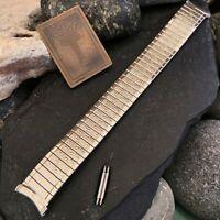 Kreisler USA Made Stainless Steel DuraFlex Vintage Watch Band nos 19mm 18mm