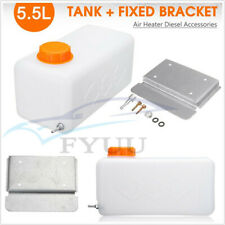 5.5L Plastic Fuel Oil Gasoline Tank&Screw Bracket For Car SUV Air Heater Diesel