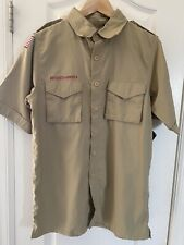 Nwt Bsa Boy Scouts of America Official S/S Shirt Uniform men's Small Button Up