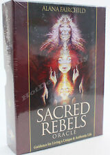 SACRED REBELS 44 CARD ORACLE DECK GUIDANCE FOR LIVING A UNIQUE & AUTHENTIC LIFE