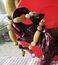 VIRVAA.   Fine Bracelet.   Pure Jade ...  Solid.  🐻🐼🐰.