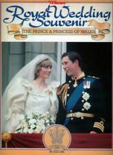 TV TIMES SOUVENIR MAGAZINE 29 JULY 1981 . ROYAL WEDDING PRINCESS DIANA LADY DI