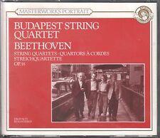 Budapest String Quartet  2  CD's  BEETHOVEN